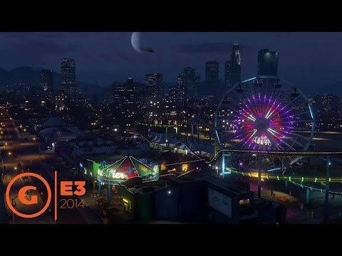 Grand Theft Auto V on PS4 - E3 2014 Sony Press Conference