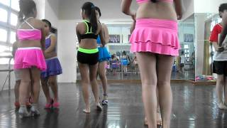 Nhà Thiếu Nhi Khánh Hòa Samba Basic 1 KID & TEEN Dancesport
