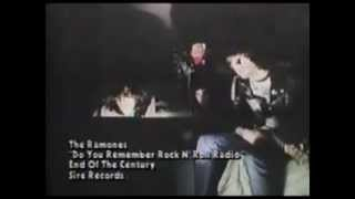 Watch Ramones Do You Remember Rock N Roll Radio video