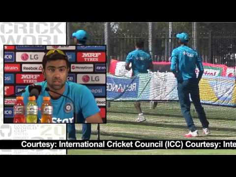 2015 Wc Ind Vs Wi: Ashwin Challenges Chris Gayle video