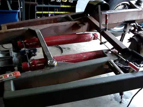 EVELYN - My 1931 Chevrolet Ratrod Tub Part #65 - Cherry Bomb Exhaust and Happy Fourth of JULY ! Video