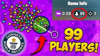 *99 PLAYERS* IN FINAL CIRCLE! *NEW* RECORD - Fortnite Funny Fails and WTF Moments! #464