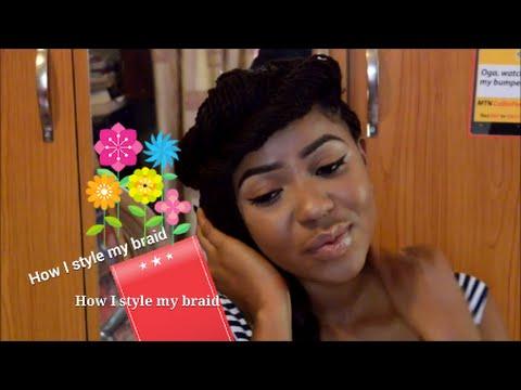 6 ways to style hair braids/ Nigeria fashion / Afr