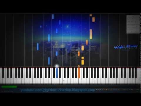 Owl City - Fireflies Piano (Re-upload)