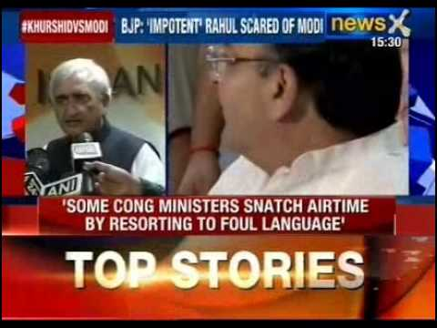 Arun Jaitley hits back at Salman Khurshid for his impotent remark...