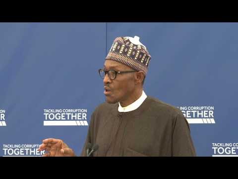 President Buhari on tackling corruption together