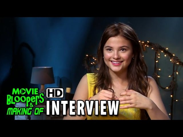Insidious: Chapter 3 (2015) Behind the Scenes Movie Interview - Stefanie Scott (Quinn Brenner)