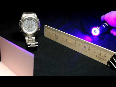 1 Вт 445 нм портативный лазер (1W 445nm portable laser).