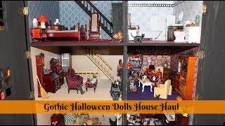 Halloween Gothic Dollhouse Haul - DIY Dolls House (Part 8)