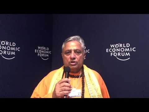 Rajan Zed - World Economic Forum on India 2012 social media corner