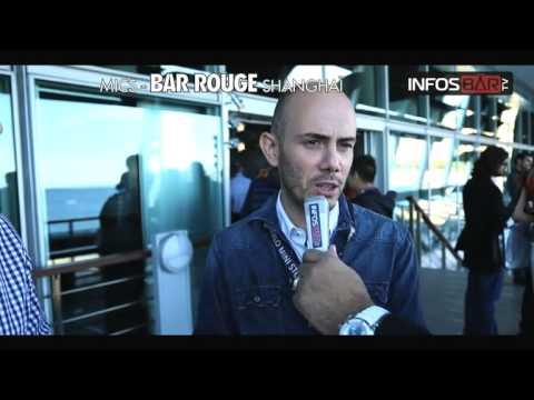 Les représentants du Bar Rouge Shanghaï au Mics 2012