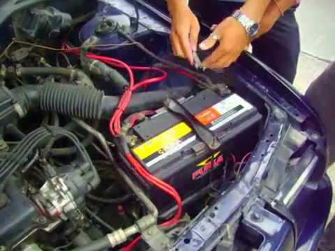 แบตเตอรี่รถยนต์ Nissan  การเช็คไฟรั่ว