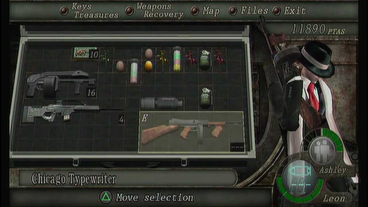 resident evil 4 how to get infinite rocket launcher