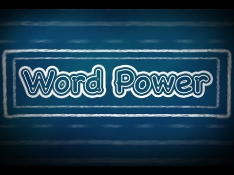 Word Power:   F (Part 1), English Lessons for Beginners