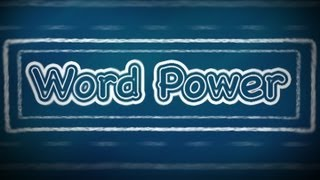 Beginners - Word Power:   F (Part 1), English Lessons for Beginners
