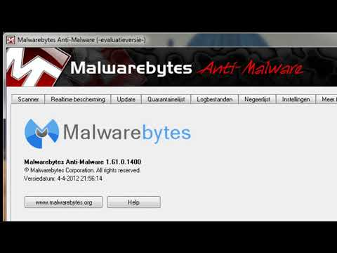 Malwarebytes' Anti-Malware 1.61