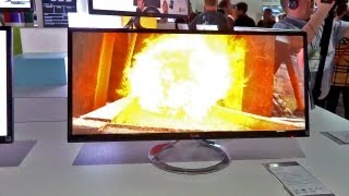 New Oversized Productivity Monitor by LG - CES 2013