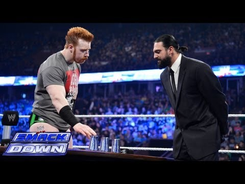 Damien Sandow looks to outwit Sheamus again: SmackDown, May 31, 2013