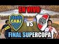 BOCA VS RIVER-FINAL SUPERCOPA ARGENTINA[RADIO] MP3