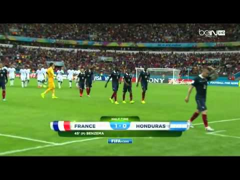 FRANCE vs HONDURAS World Cup FIFA 2014 Full Match