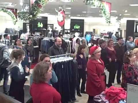 flash mob hallelujah chorus, los angeles master chorale, westfield santa anita m