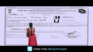 English Vinglish - English Vinglish First Look Trailer (Tamil)