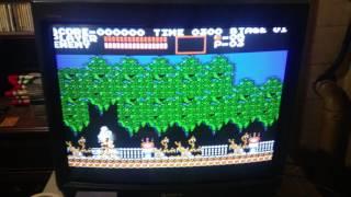 RPi Versus NES at 240p - Scanline Comparison Over Composite