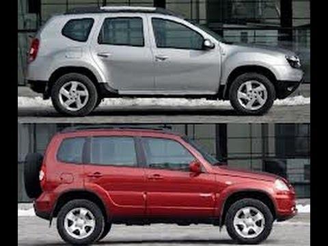 Ресурсные испытания Chevrolet Niva и Renault Duster