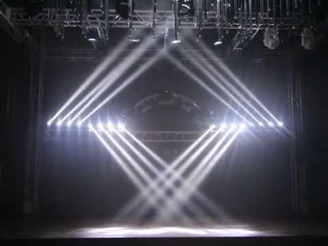 LED Головы New Light PL-63C LED Four Moving Head Beam RGBW