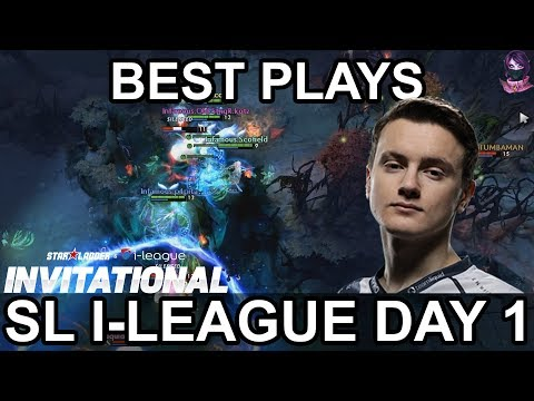 SL i-League 2018 Minor BEST PLAYS Day 1 Highlights Dota 2 by Time 2 Dota #dota2