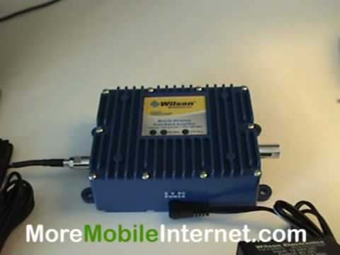 Wilson Wireless Amplifier for Sprint. Verizon & Cricket Data Cards