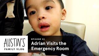 Adrian Visits The Emergency Room | Austin Vlog | HiHo Kids
