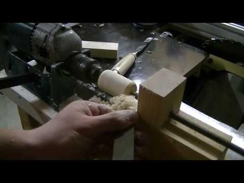Building a Hand Drill Lathe (How To) Eigenbau Drechselbank