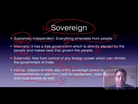 Polity Lecture For Ias : 1.2 Preamble Ias Preparation video