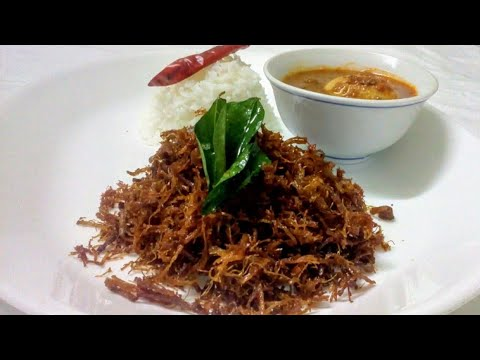 MUTTON YAKHNI FRY || CRISPY MUTTON by kitchen counter
