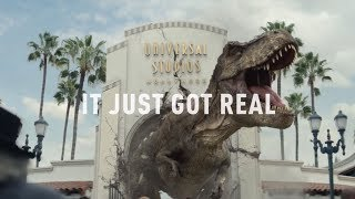 Let's Look At Jurassic World The Ride   Universal Studios Hollywood