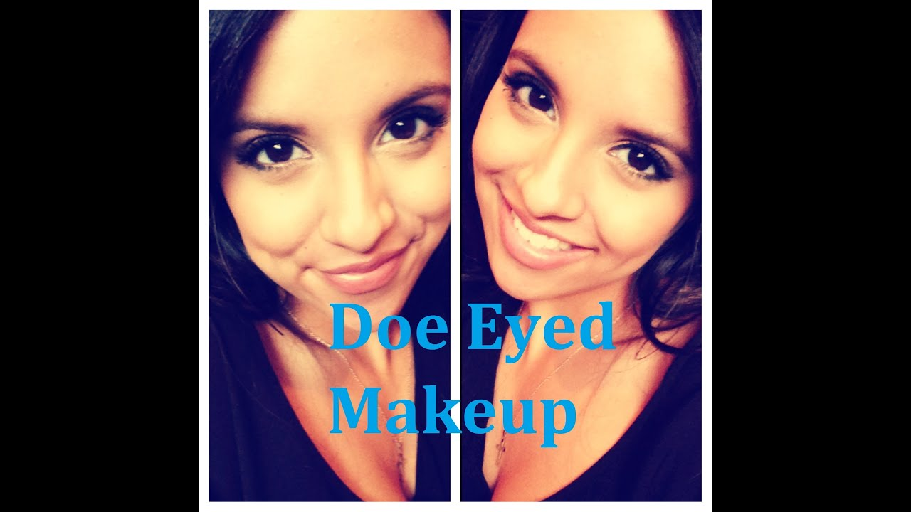 Doe eyes makeup