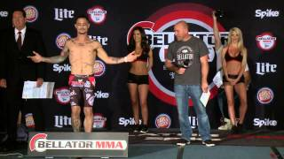 Bellator MMA: Brooks vs Jansen Official Weigh-Ins