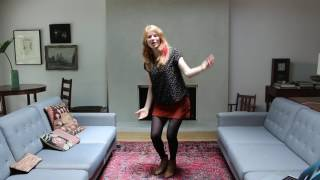 """Moira Smiley Teaches """"Bring Me Little Water Silvy"""" Body Percussion"""