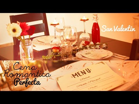 Diy cena romantica de san valentin cita perfecta youtube for Preparar cita romantica