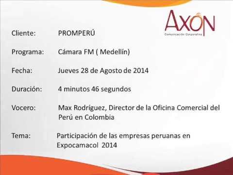 PROMPERÚ: Participación de la comitiva peruana en noticias de la Cámara FM