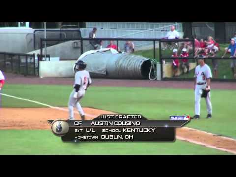 2014 MLB Draft - Seattle Mariners Select CF Austin Cousino