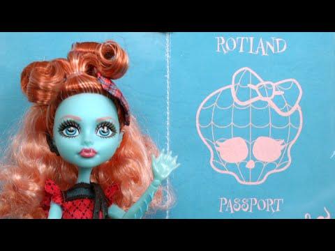 Monster High Monster Exchange Lorna McNessie from Mattel