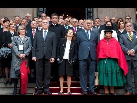 XVI Cumbre Judicial Iberoamericana: el detr�s de escena de la foto oficial