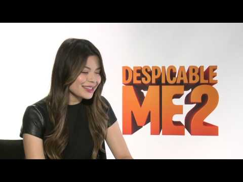 Miranda Cosgrove Interview - Despicable Me 2