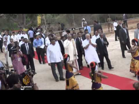 India PM embarks on historic Sri Lanka visit