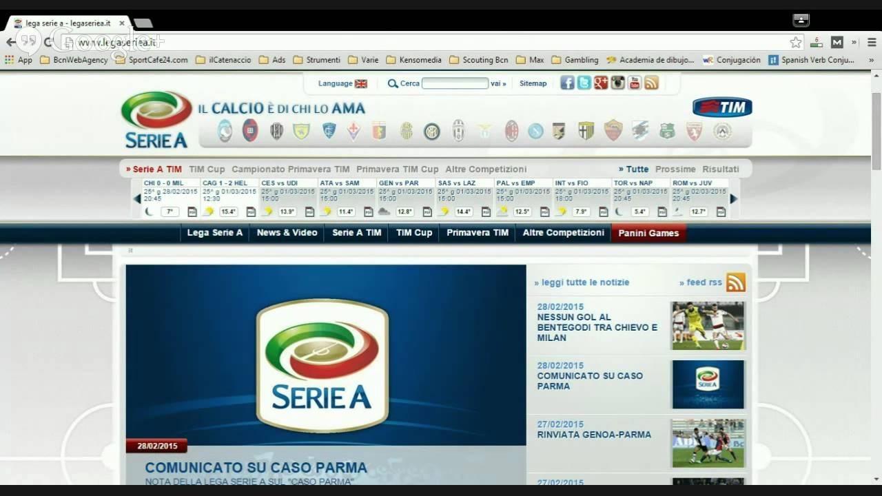 Diretta Gol Serie A 25 Ma Giornata Radio Diretta Streaming Youtube