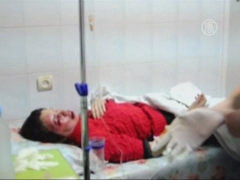 Активистку «Евромайдана» жестоко избили (новости)