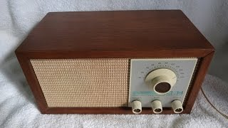 1965 KLH model Twenty One transistor table radio (made in the USA)