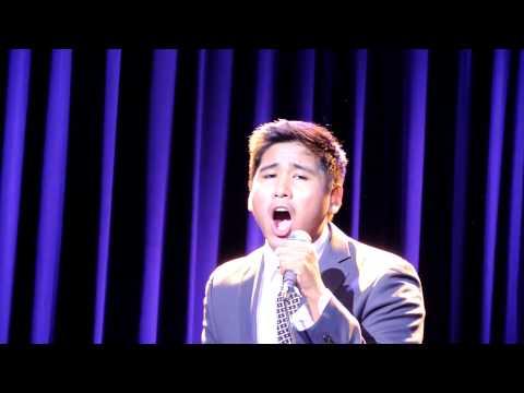"Mark Anthony Atienza singing ""Go the Distance"" @ Teatrino Promenade Greenhills San Juan"